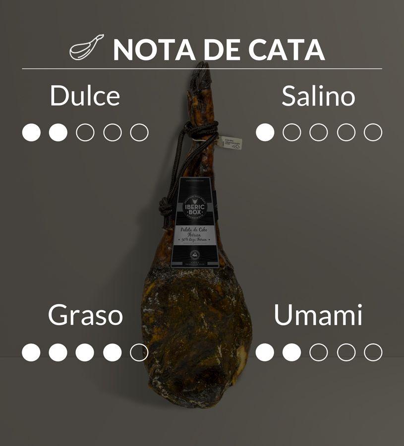 Paleta de Cebo 50% Raza Ibérica - Curada en Sierra de Aracena (4,5-5,5 kg)