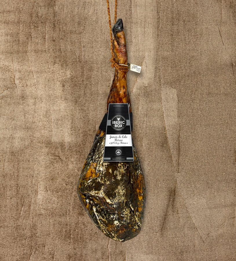 50% Iberico Ham Cebo - Cured in Sierra de Aracena (7,5-8,5 kg)