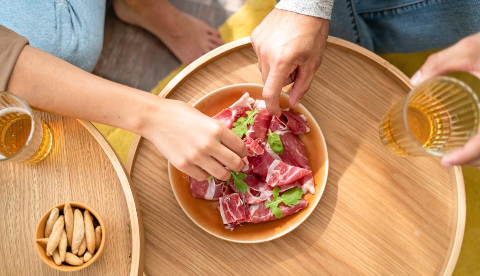 ¿Cuáles son las formas más habituales de comer jamón?